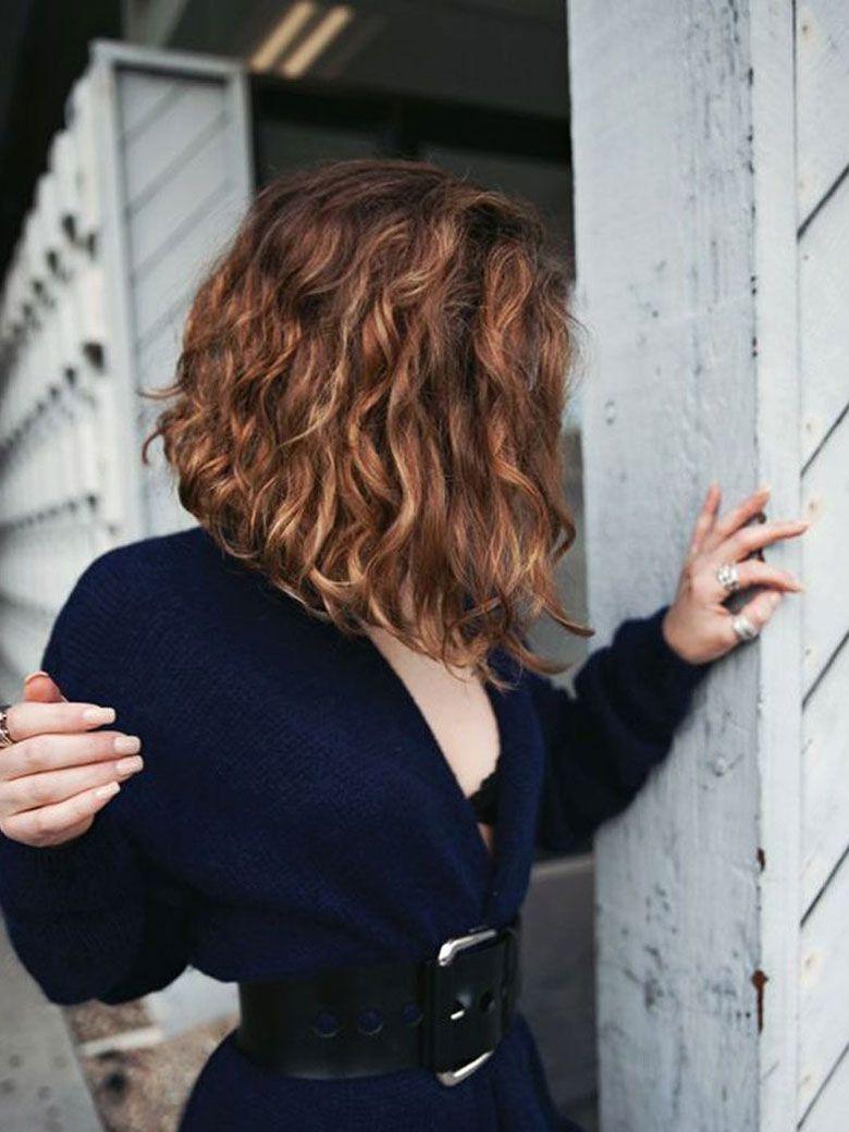 20 idées de coupes pour toutes celles qui ont les cheveux bouc... | Carré plongeant cheveux ...