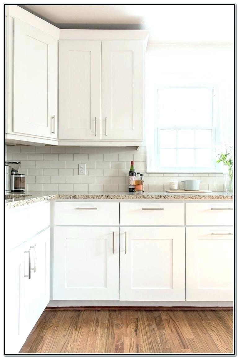 Cabinet hardware placement | Backsplash for white cabinets ...