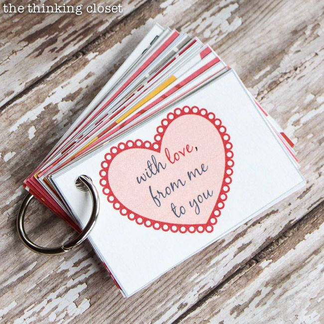 creative valentines day gift ideaa mini book with pre planned - Creative Valentine Day Gifts For Him