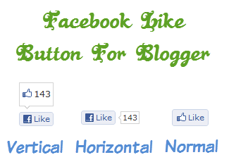 Add Facebook Like Button To Blogger Posts ~ Helper Blogger