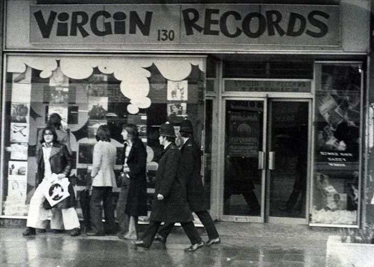 Virgin Records - Nottinghill Gate, London. | Virgin records, Record shop, Record  store