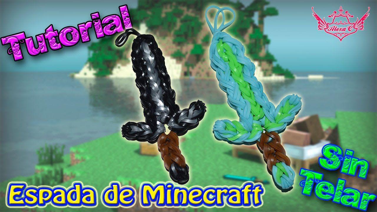 ♥ Tutorial: Espada de Minecraft de gomitas (sin telar) ♥