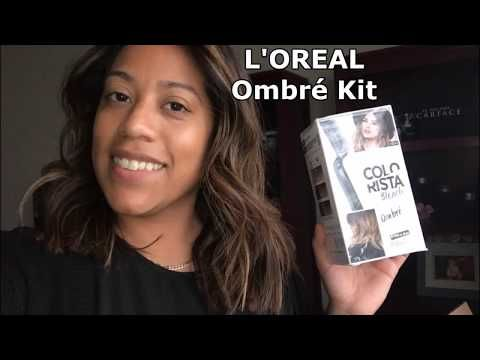 Highlights En Casa Diy Loreal Ombre Kit Youtube Ombre Kit Loreal Colorista Ombre Loreal