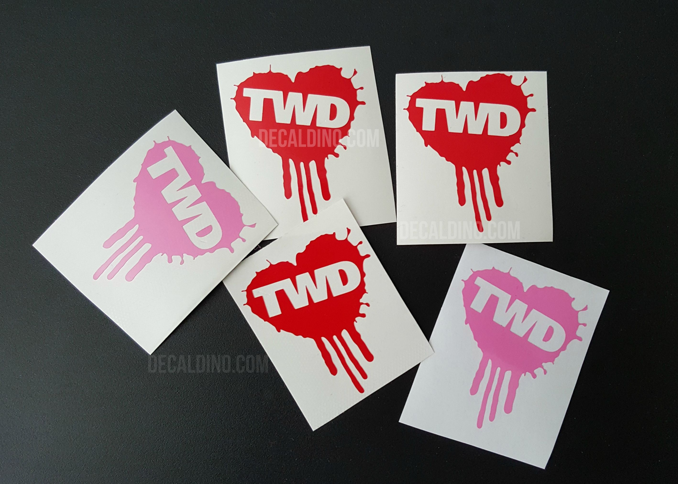 Twd Heart Stuff And Thangs Twd Heart Decals [ jpg ]