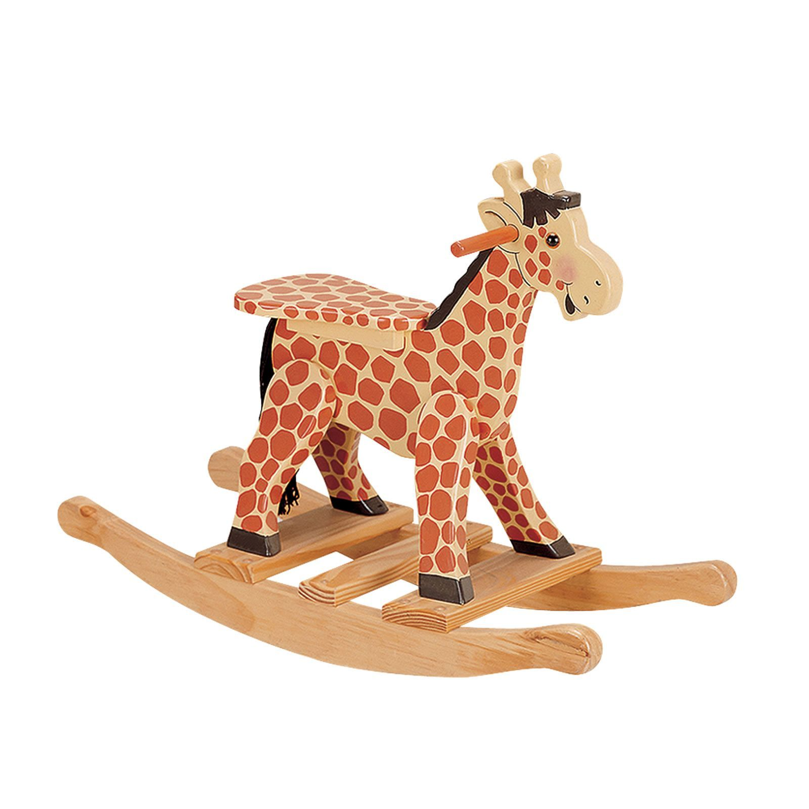 Safari Giraffe Rocking Horse Kids Rocking Horse Kids Rocking Chair Rocking Toy