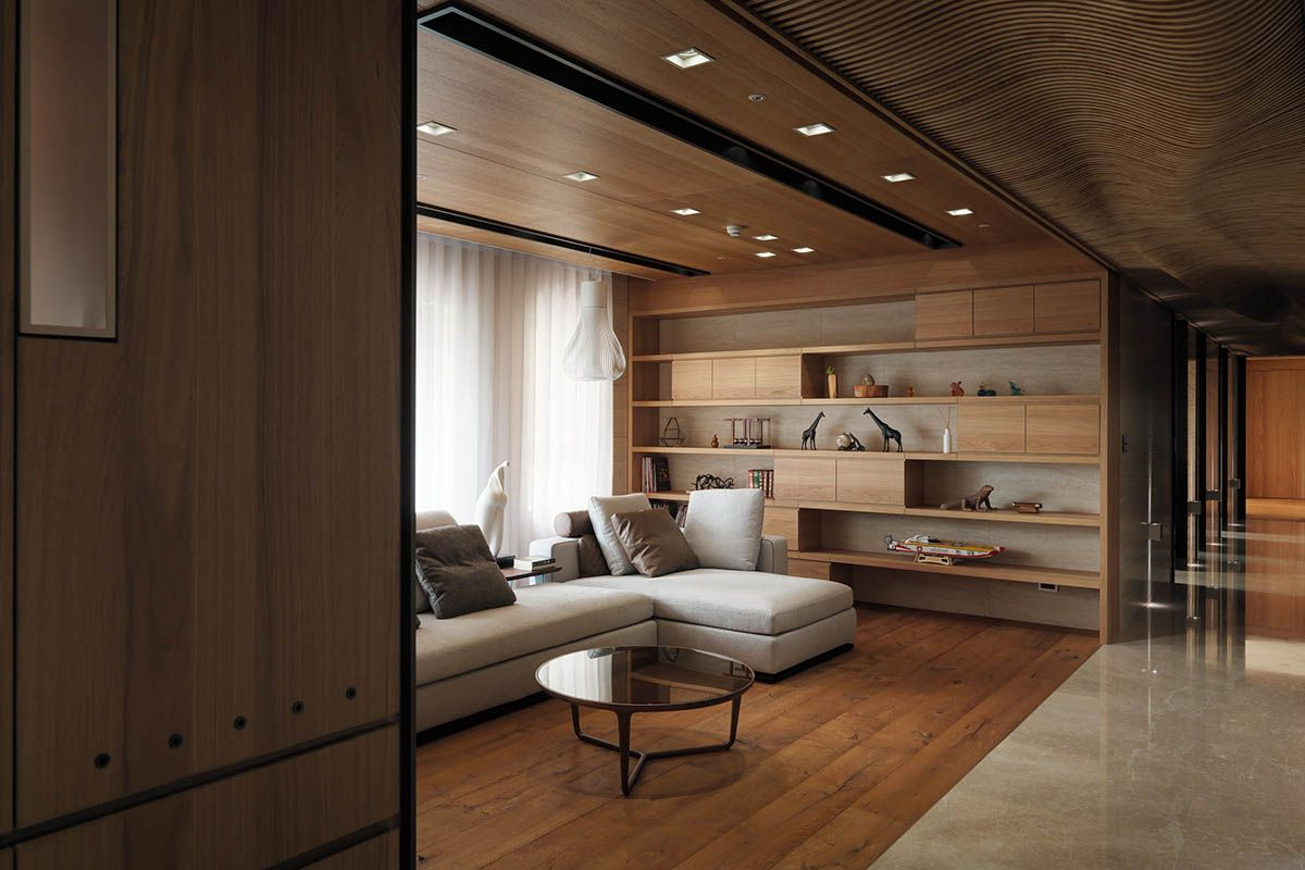 4 Homes With Design Focused On Beautiful Wood Elements Apart