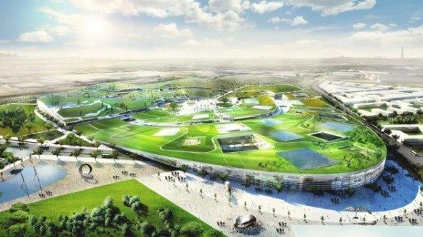 BIGs Newest Park Is Modelled After ... a City