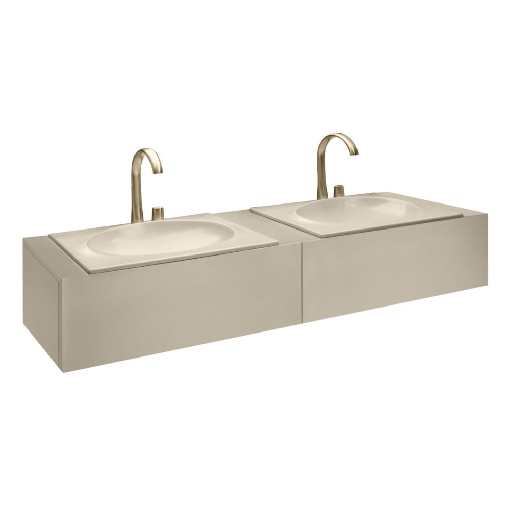1550 mm furniture with upper drawer for double 650 mm countertop ...