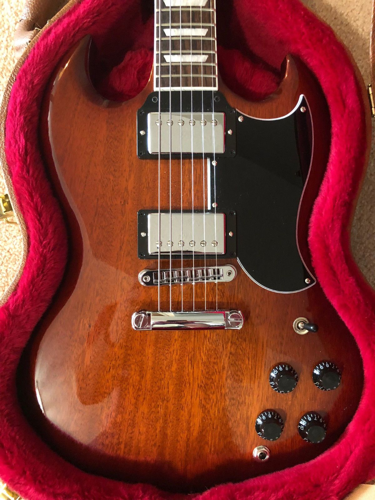 2018 Gibson SG Standard Autumn Shade w/ Gibson Hardshell