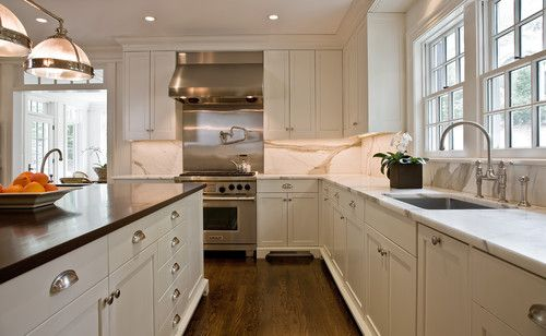 Upscale Elegance Kitchen By Dalia Kitchen Design Boston Ma