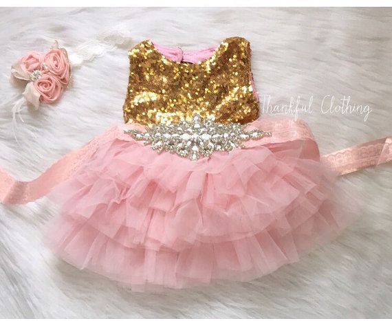 First Birthday Girl Outfit 1st Birthday By Thankfulclothingshop