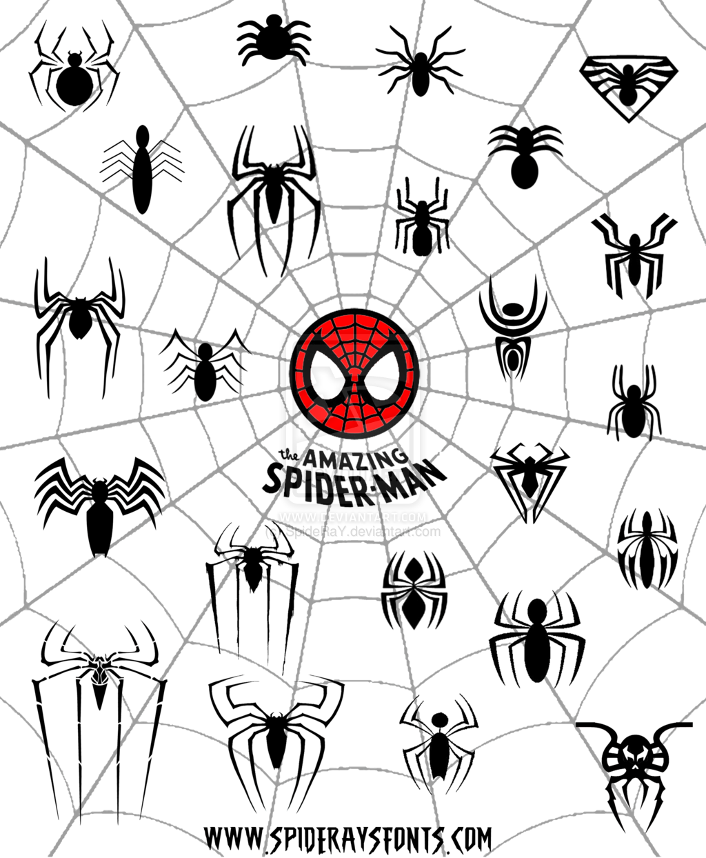 The Amazing Spider Man Logo Web By SpideRaYdeviantart On DeviantART