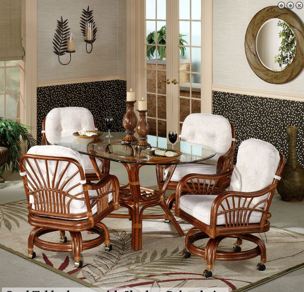 Pin by Elba Feliciano on dining room Caster chairs