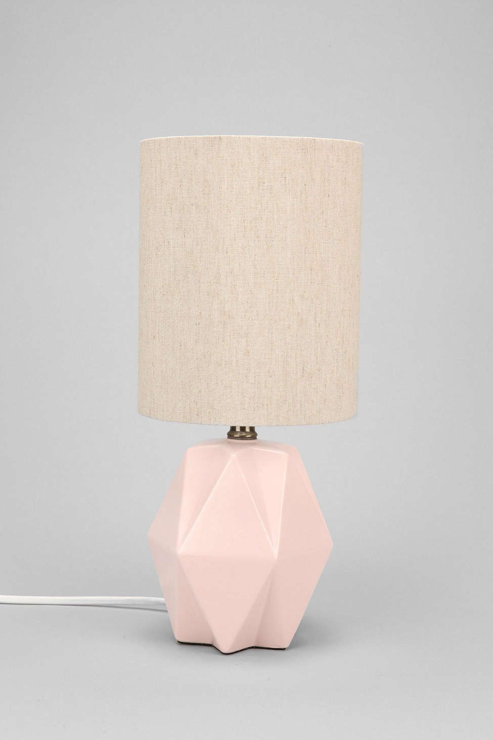 Faceted pastel table lamp pastels room and big girl rooms faceted pastel table lamp urban outfitters baby girls room mozeypictures Gallery