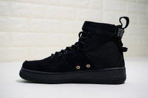 Nike SF AF1 Mid Black Brown Dark Hazel 917753 002 Mens