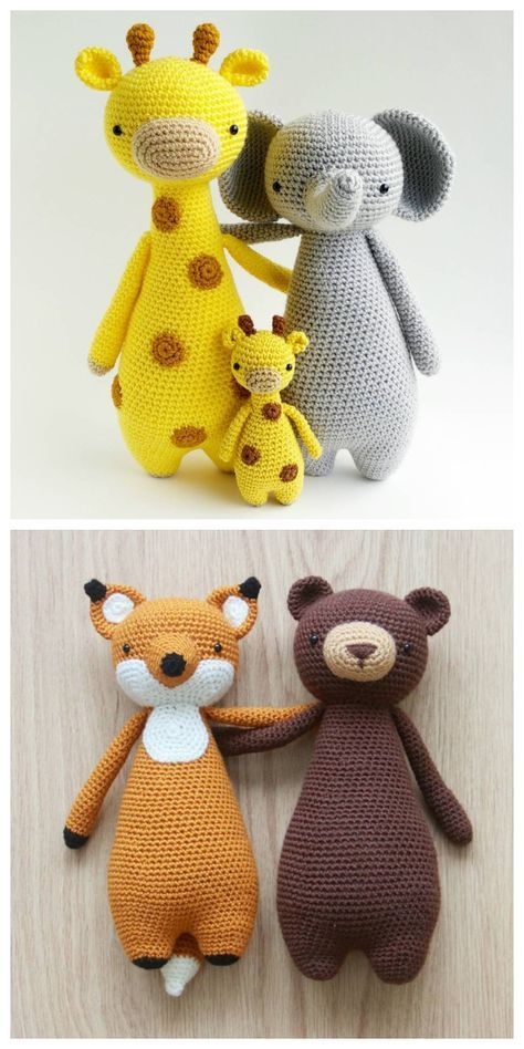 Crochet patterns by Little Bear Crochets: www.littlebearcrochets.com ❤️ #littlebearcrochets #amigurumi #crochet #crochetbear
