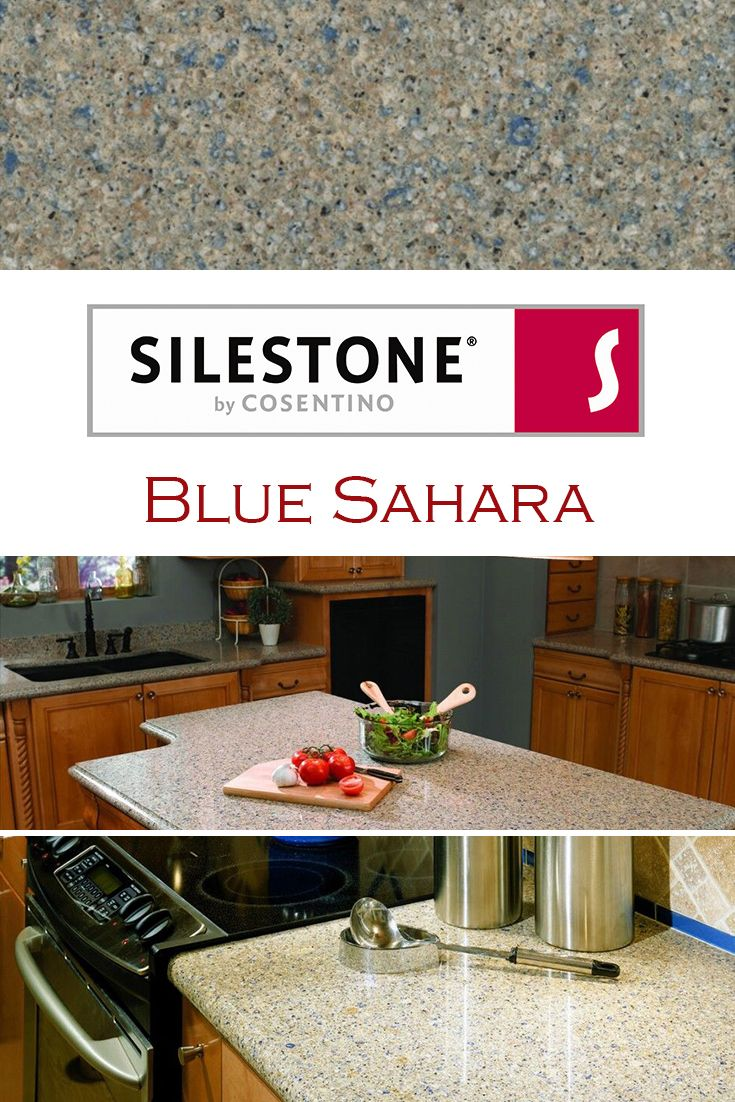 Blue Sahara By Silestone Is Perfect For A Kitchen Quartz