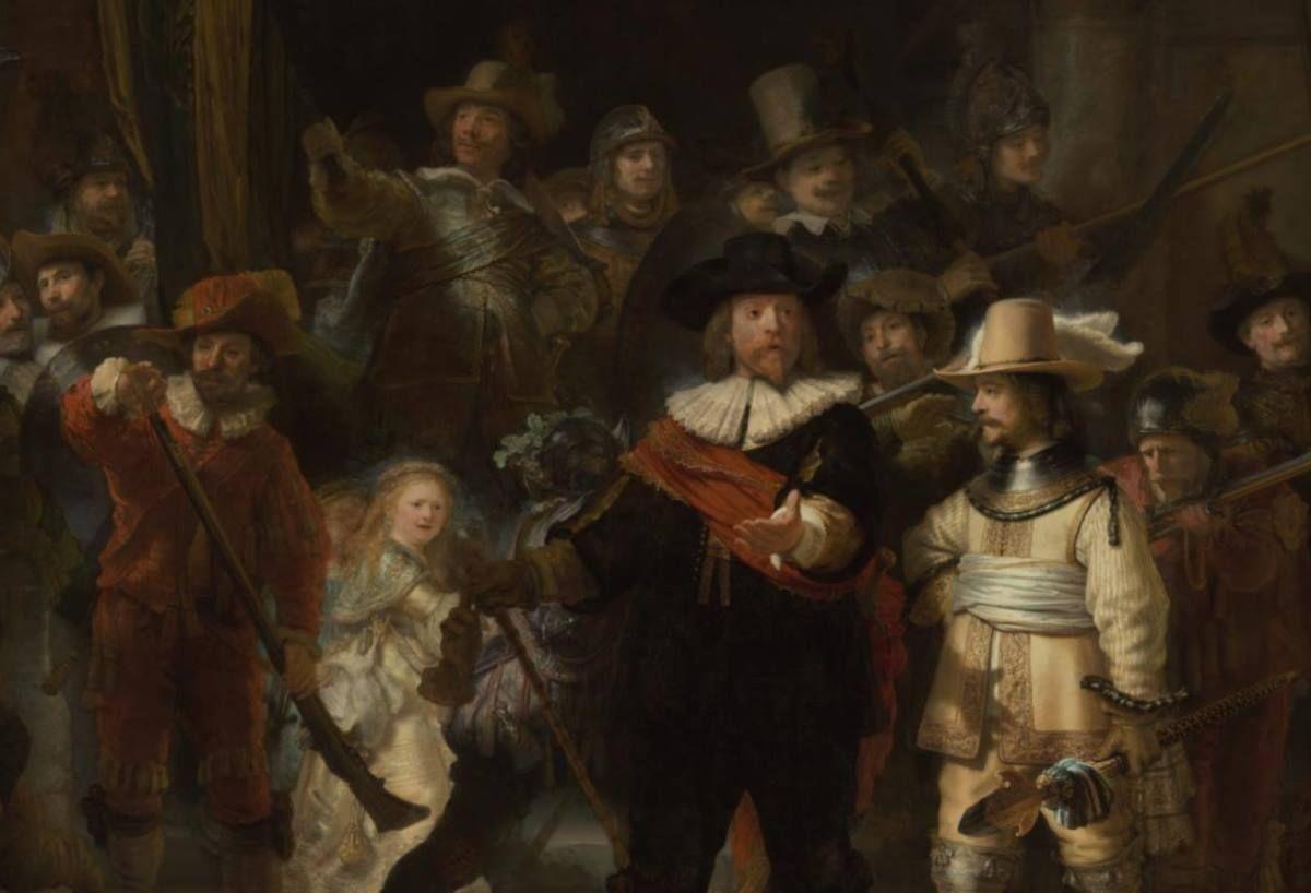 Impresionante Fotografía De 44 Gigapíxeles De La Obra La Ronda De La Noche De Rembrandt Rembrandt Impresionismo Fotografia
