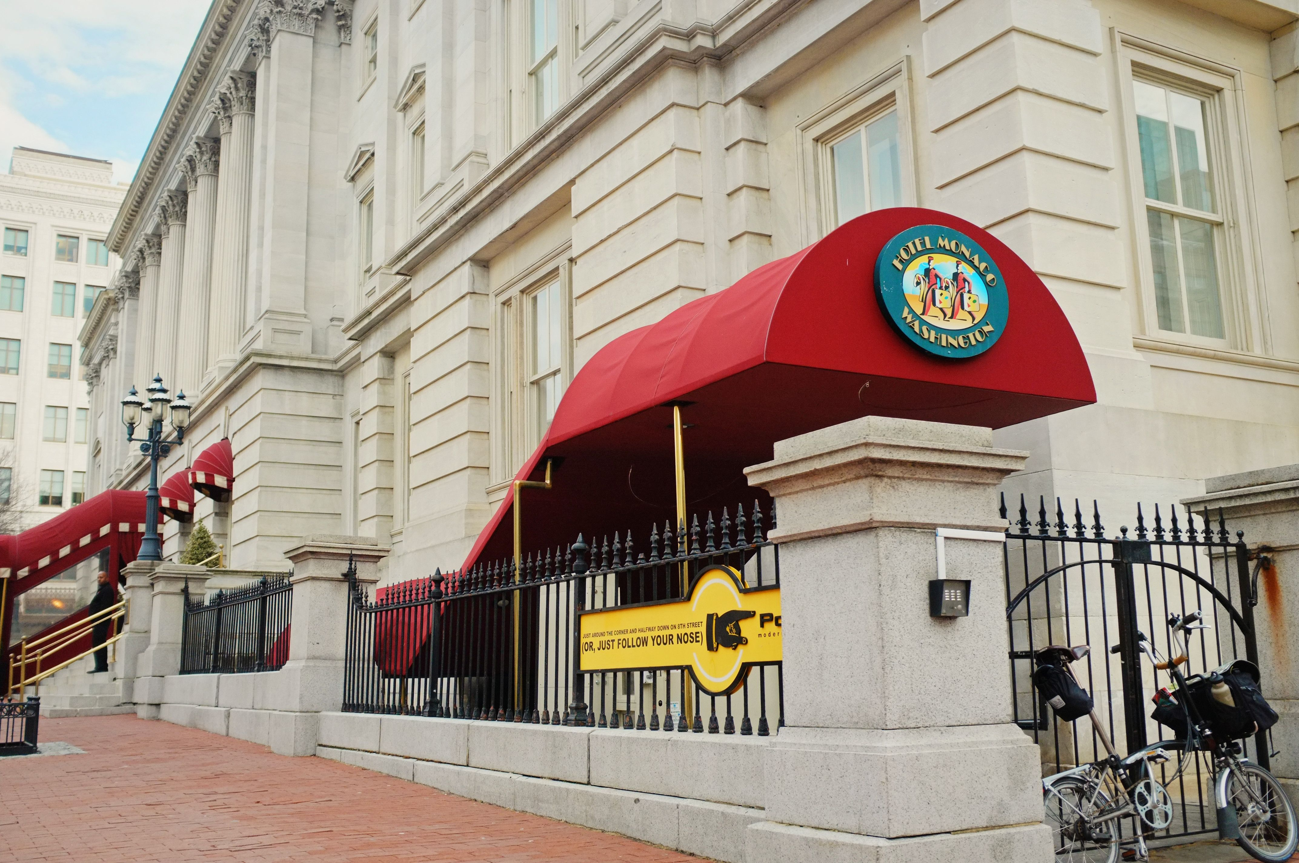 WASHINGTON DC MEMBER hotel with Bikabout map selfguided cultural