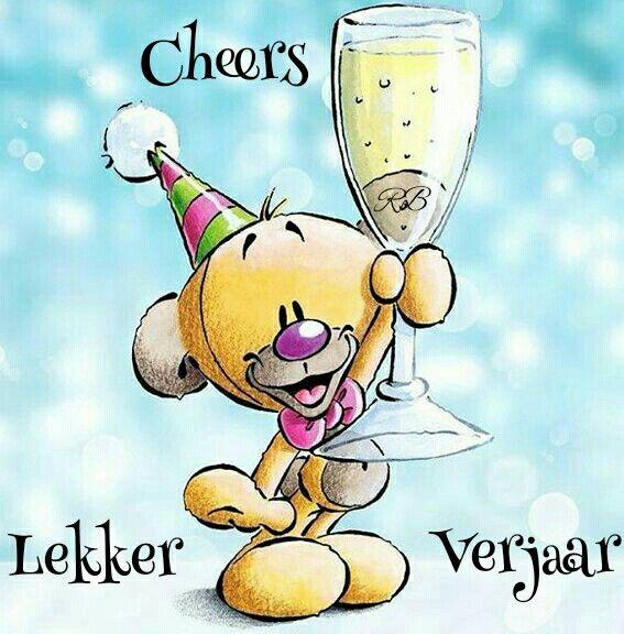 Lekker Verjaar | Afrikaans | Happy birthday, Birthday ...