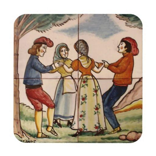 People of Spain Dancing the Sardana-Coaster #coaster #spain #sardana #folkdance
