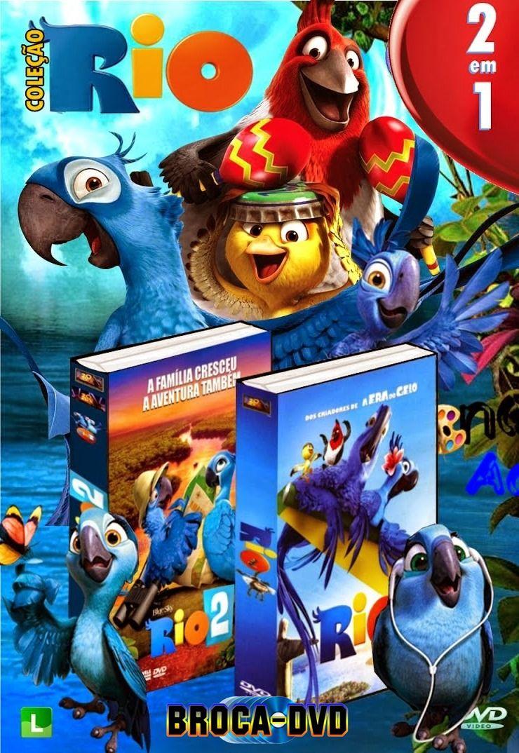 Capa Do Filme Rio 2x1 Filme Rio Filmes Freitas