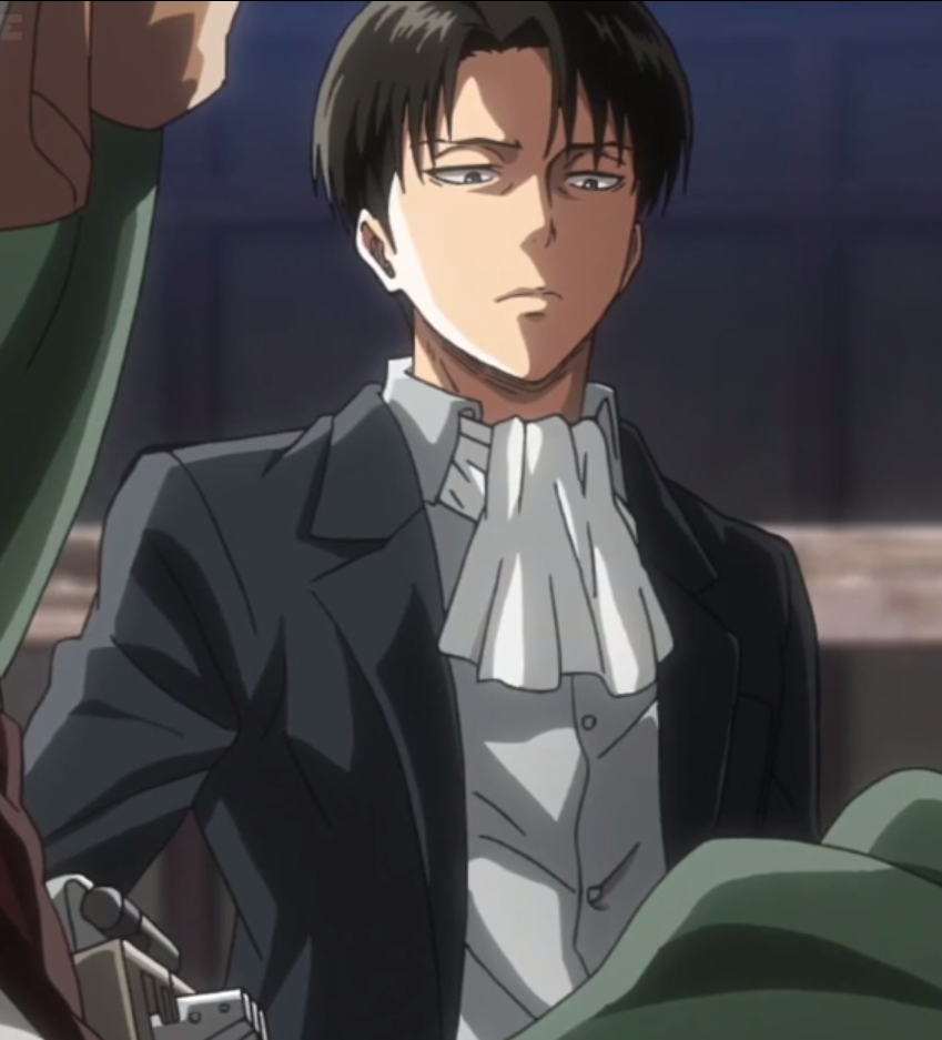 Levi SnK Season 2 Episode 8 Levi ackerman, Attack on