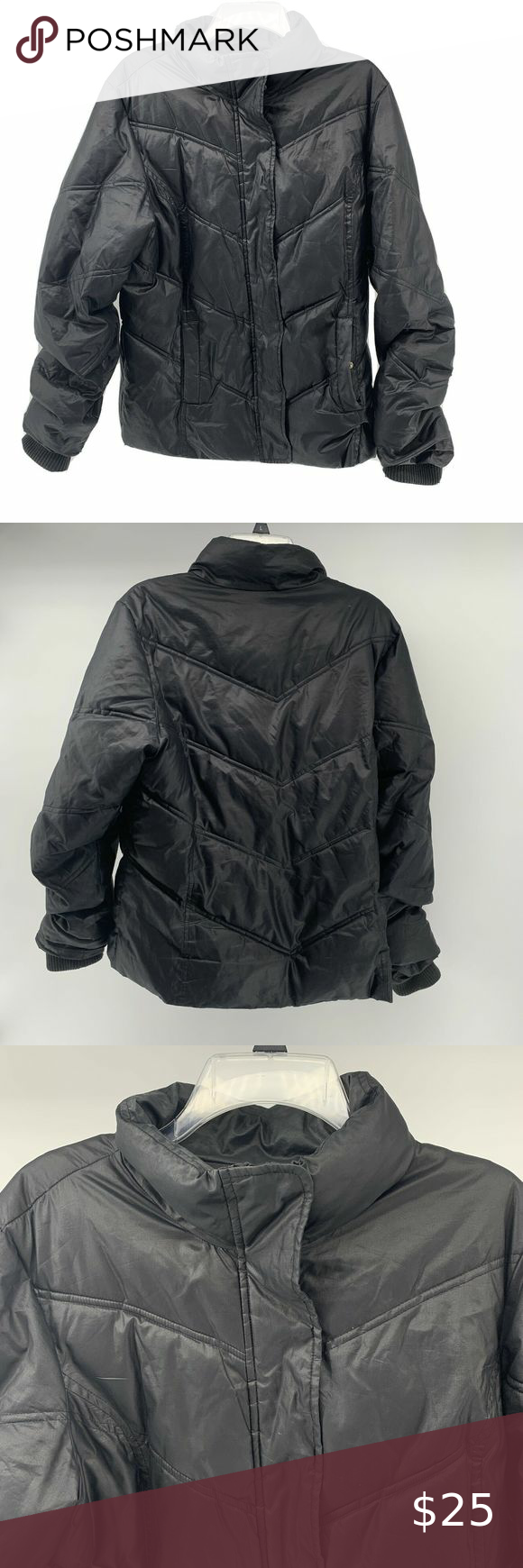 Gap Black Quilted Puffer Jacket Mens Large Quilted Puffer Jacket Puffer Jackets Gap Jacket [ 1740 x 580 Pixel ]