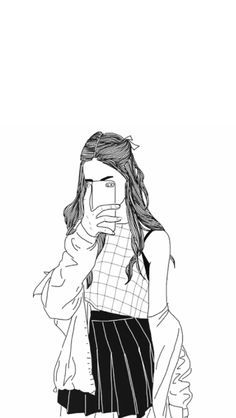 Image Result For Dibujos Faciles De Chicas Tumblr Drawings In 2019