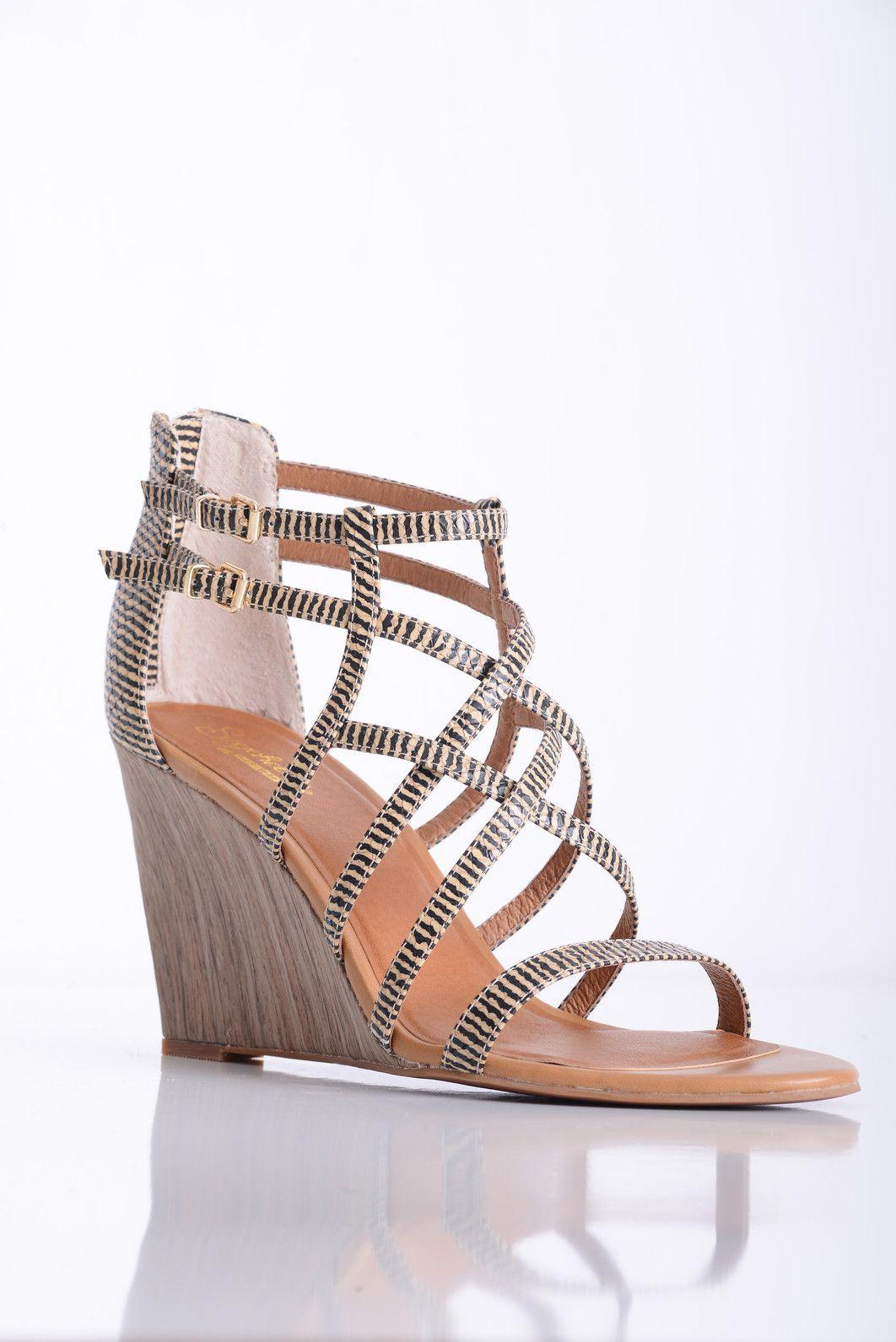 0da1ae6df8d Seychelles Illustrious Strappy Wedge Wooden Heels