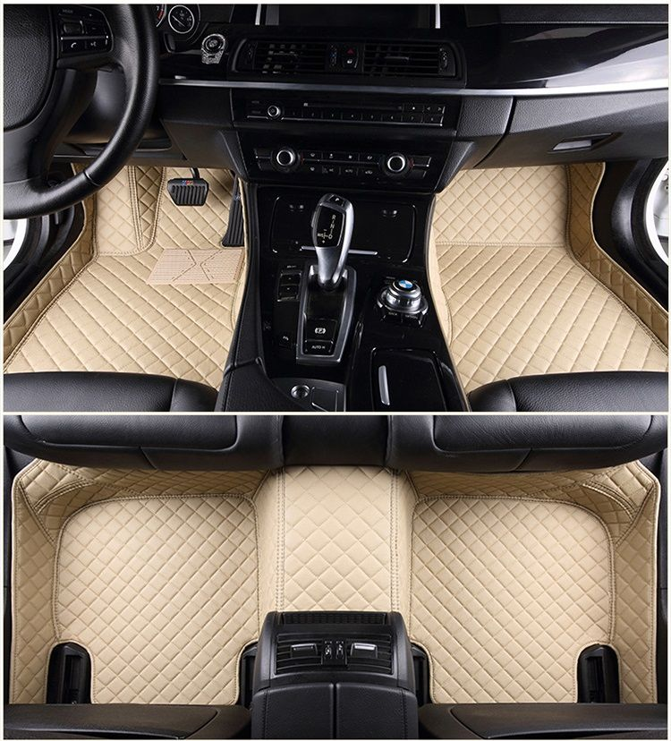 FloorEdge™ Custom Car Floor Mats - Diamond Stitching