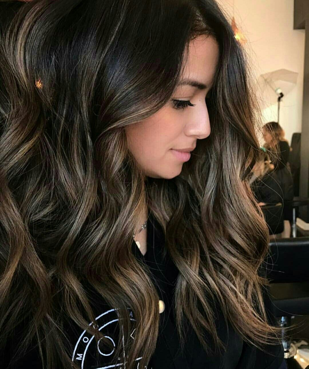 T H I S Color Omggg Yaaaaaas Balayage Hair Balayage Brunette Brunette Hair Color