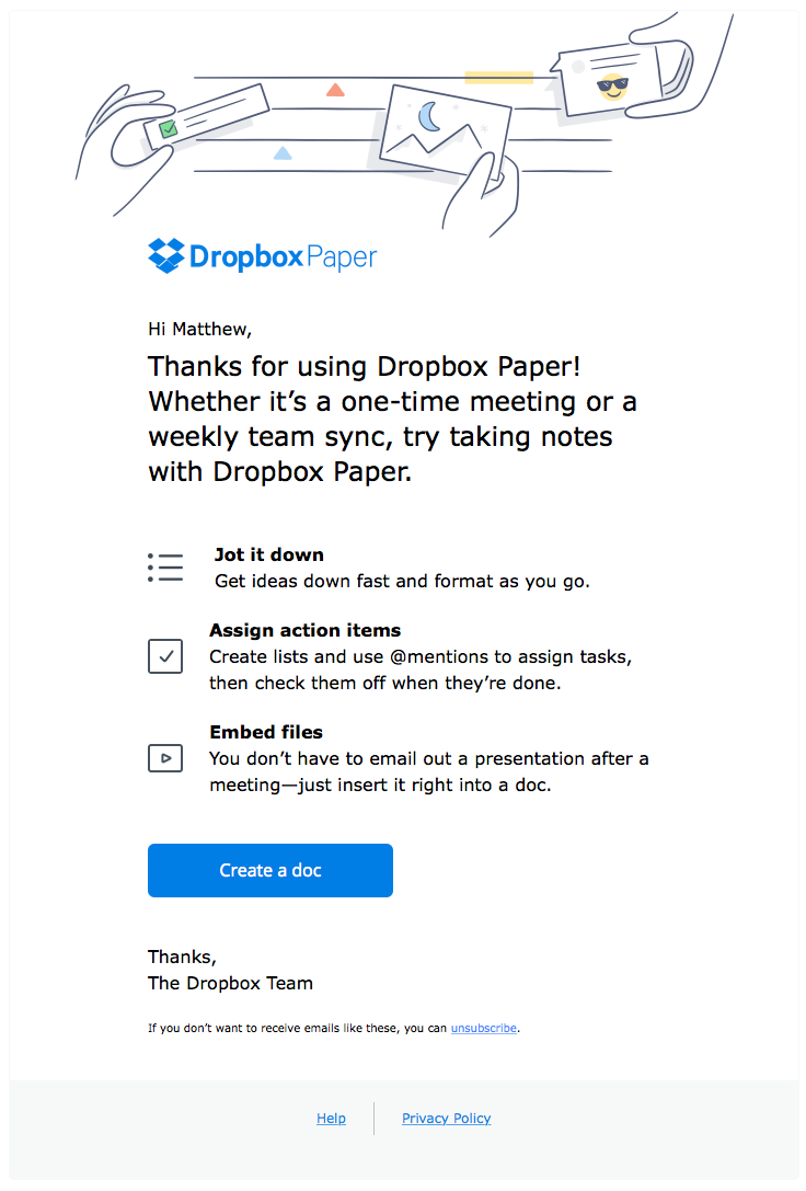 dropbox sent this email with the subject line dropbox. Black Bedroom Furniture Sets. Home Design Ideas