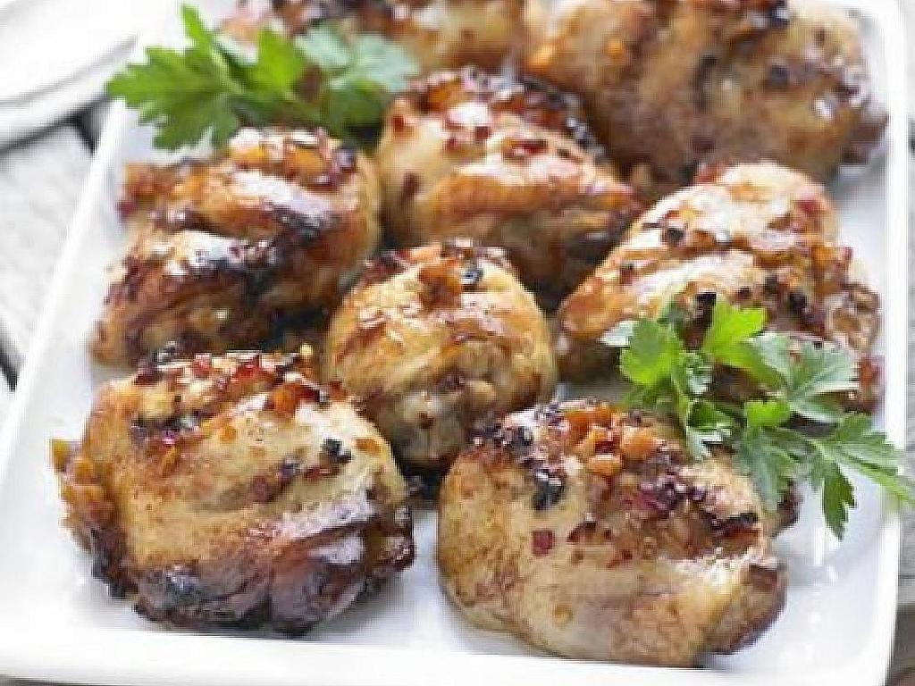 Sticky tamari honey chicken thighs recipe honey chicken thighs recipes sticky tamari honey chicken thighs bbcgoodfood forumfinder Images