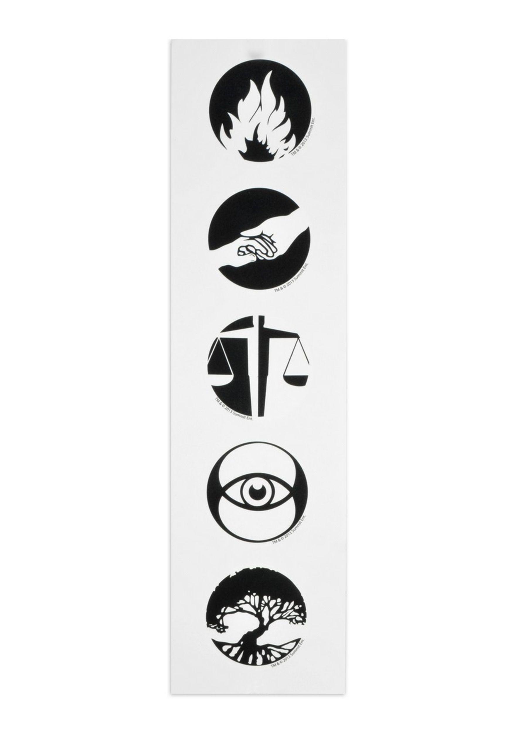 divergent symbol tattoo - HD1750×2500