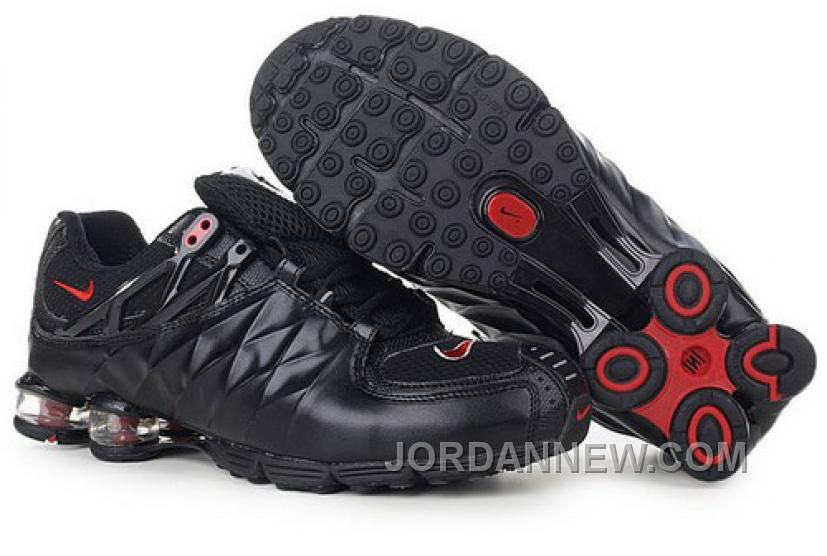 outlet store 4ec6a d9e6a ... top quality mens nike shox r4 shoes black red for sale price 77.95 air  jordan shoes