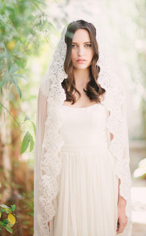 16 new wedding veil styles you'll love | veil, weddings and wedding