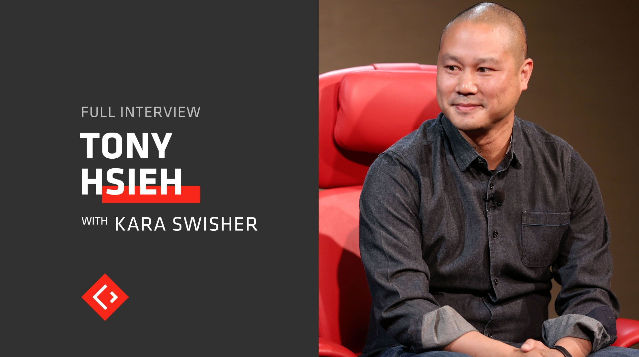Tony Hsieh Explains Why He Sold Zappos And What He Thinks Of Amazon Fu Tony Hsieh Explain Why Self Organization
