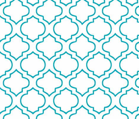 Moroccan print pattern inspiration around every corner for Moroccan shapes templates