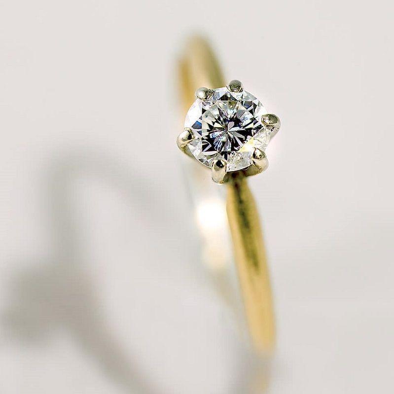 Round Diamond Solitaire Diamond engagement ring