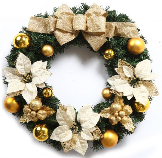 Christmas Wreath in Artificial Pine with by SophieMovingCastle
