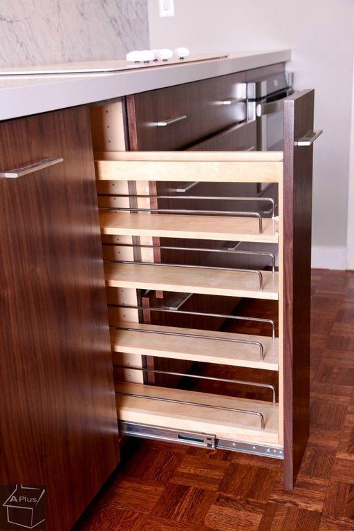 Best Modern Pantry With Built In Bookshelf Barker Cabinet 400 x 300