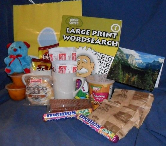 The Classic Senior Gift Care Package - Gift Packages for ...