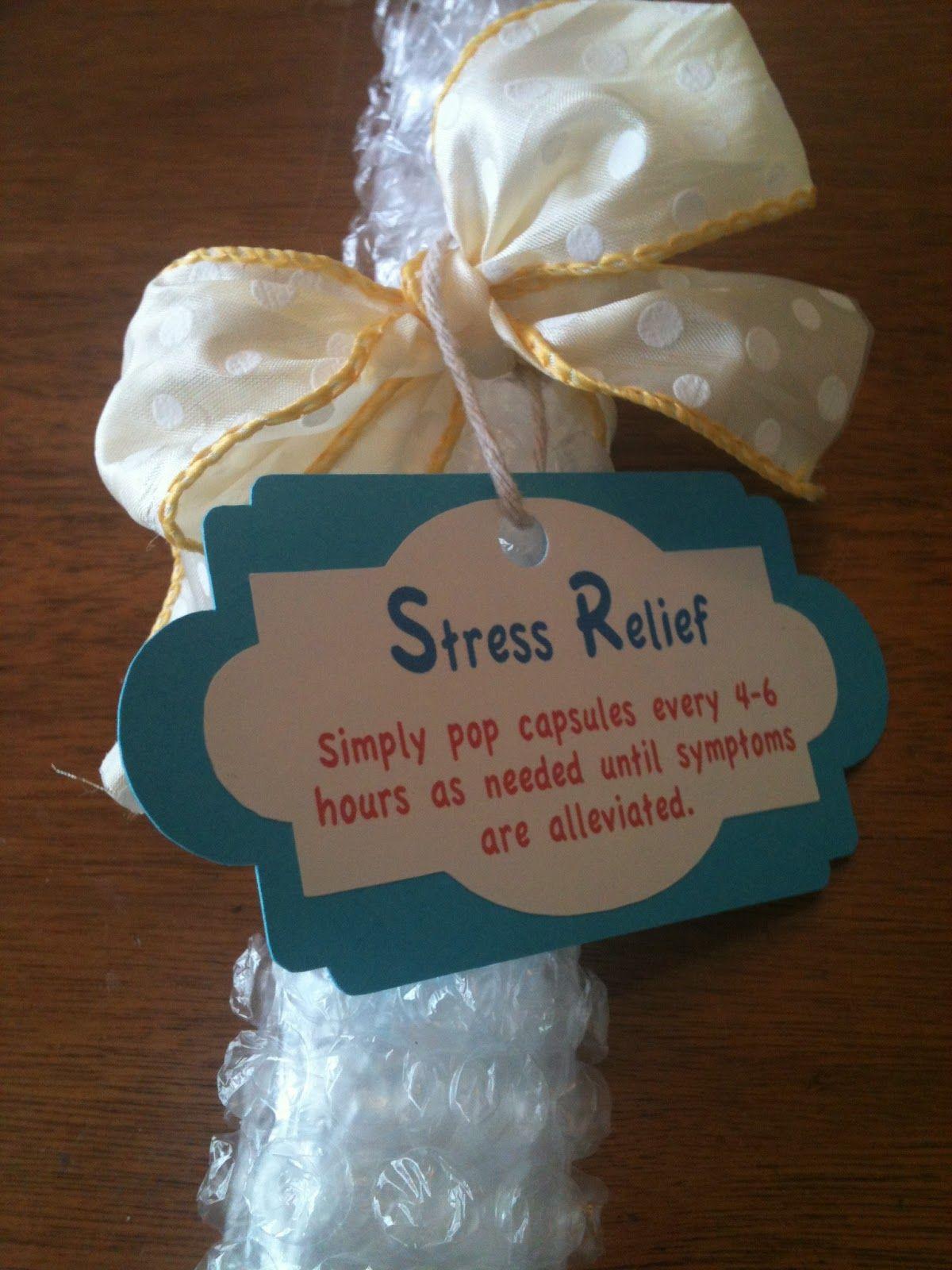 Blog Me Fit Stress Relief Gift Secret santa, Christmas