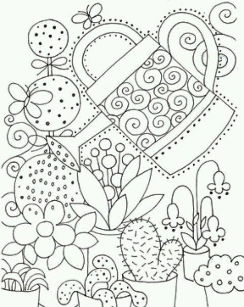 Pin de Te Do en Pintar | Pinterest | Colorear, Mandalas y Bordado crewel