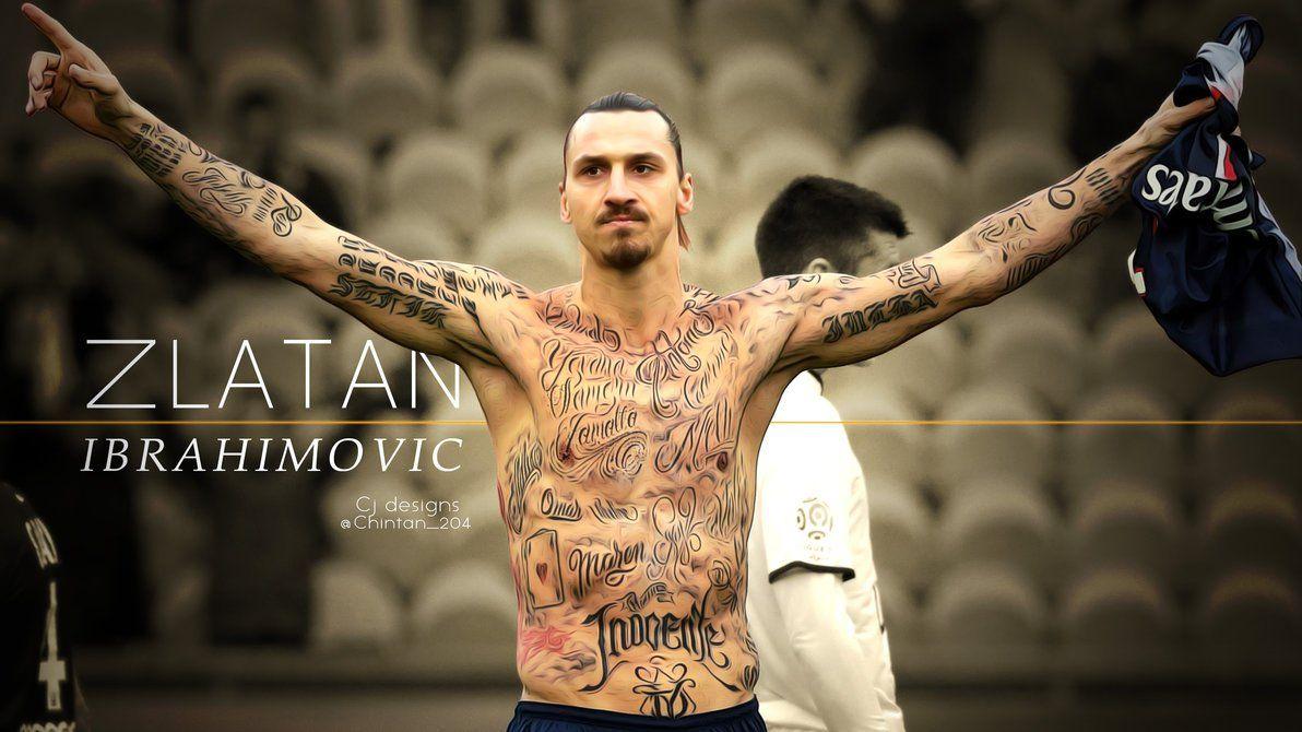 zlatan ibrahimovic tattoos show wallpaper free sports