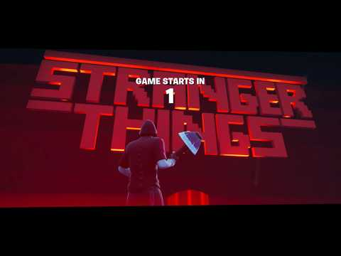 (2) STRANGER THINGS BREAKOUT By QuenThein Fortnite