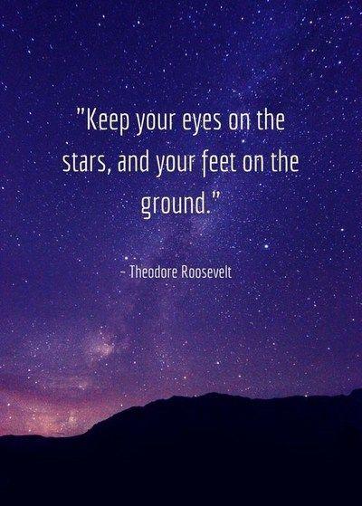 Stars Quotes in 2020 (mit Bildern) | Roosevelt zitate ...