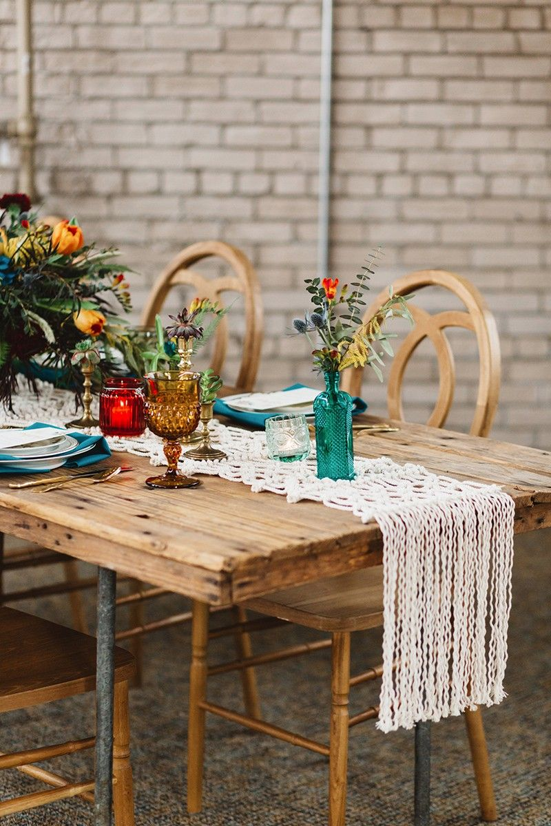 HOW TO STYLE A BOHO WEDDING HOW