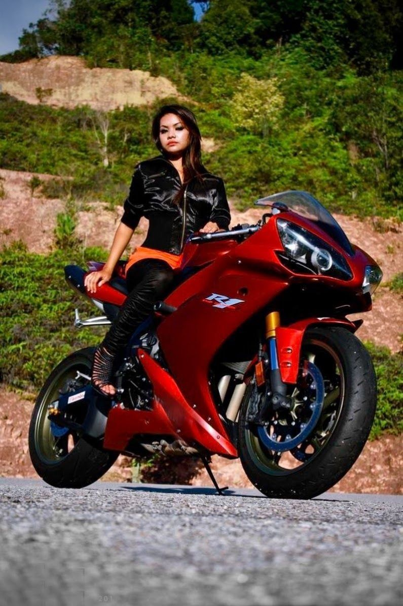 Pin By Royal Crown On Super Bikes With Images Female